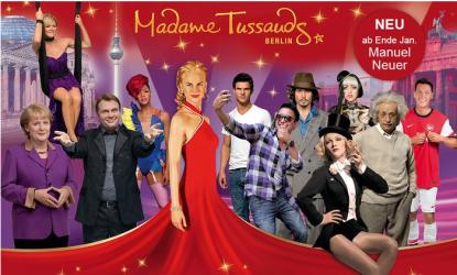 Madame Tussauds Berlin Rabatt